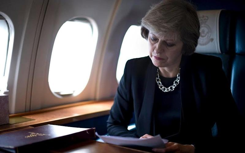 Clarence House booked the Prime Minister's RAF Voyager jet when it organised the Prince's nine-day tour