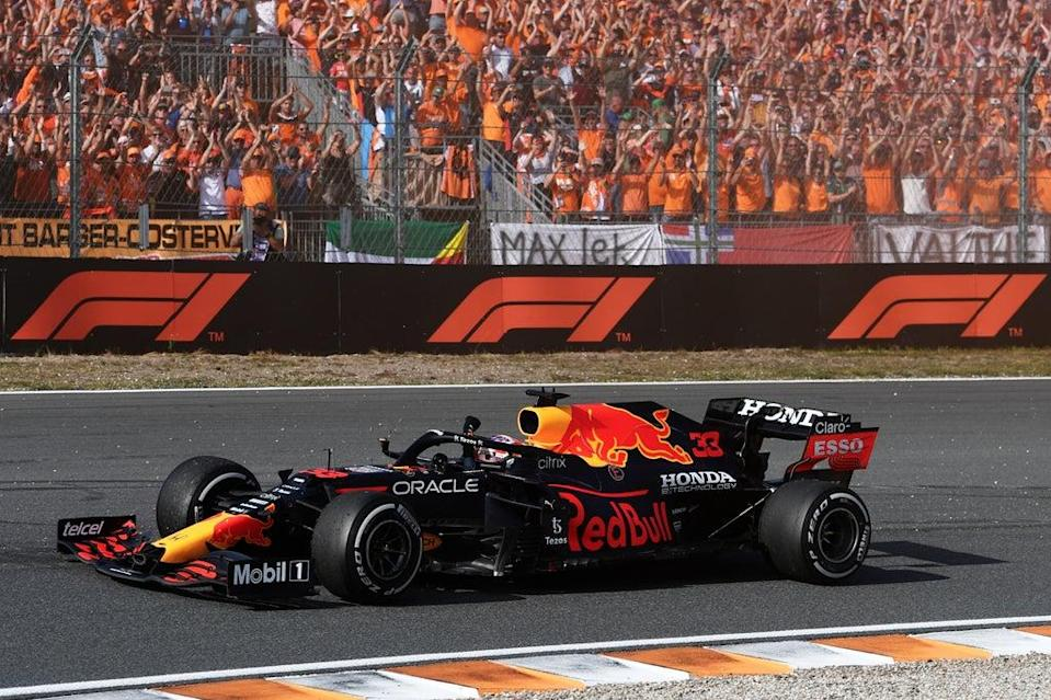 Max Verstappen won the first Dutch Grand Prix for 36 years  (Getty Images for Heineken)