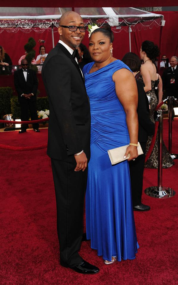 Mo'Nique and husband Sidney at the 82nd Annual Academy Awards held at Kodak Theatre on March 7, 2010 in Hollywood, California.