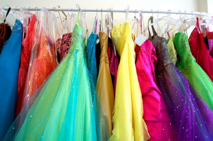 Prom dresses. (Photo: Getty Images)