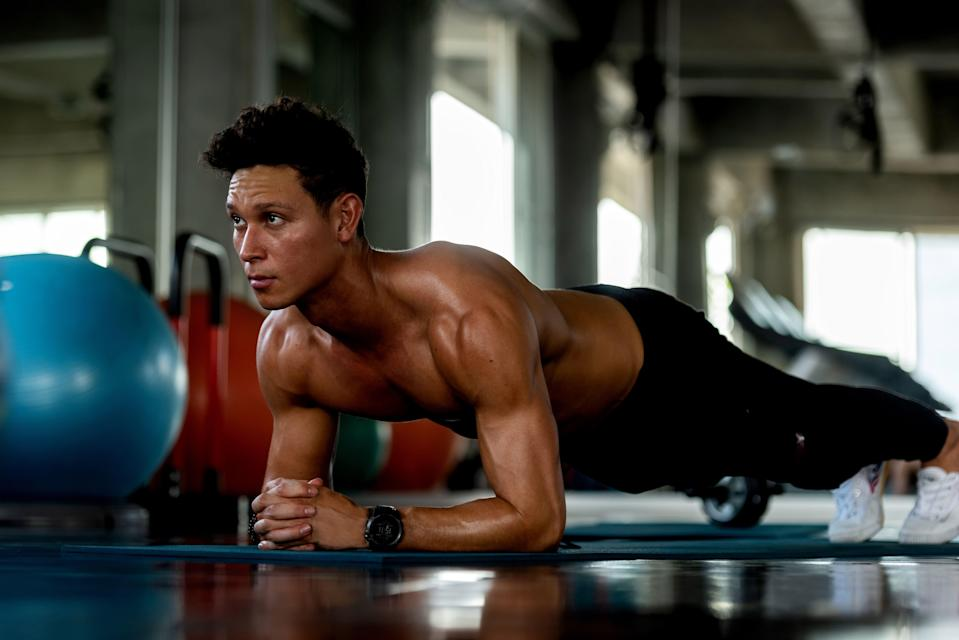 "<p>Torch calories fast with this HIIT routine: a bodyweight circuit by <a href=""https://six3nine.com/trainers"" rel=""nofollow noopener"" target=""_blank"" data-ylk=""slk:Mike Brooks, PT at SIX3NINE"" class=""link rapid-noclick-resp"">Mike Brooks, PT at SIX3NINE</a>. Repeat three times to blast 100kcal in less time than it takes to boil an egg.</p>"