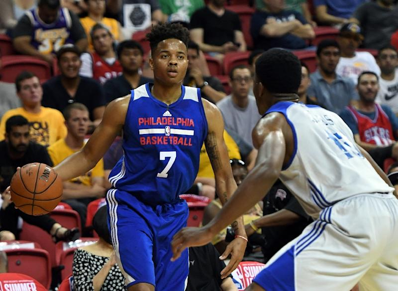 Markelle Fultz injures ankle in 76ers Summer League game
