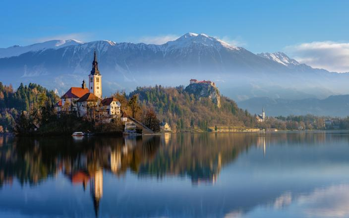As of today, Slovenia is now on the list of countries Britons can visit without going into quarantine on return - Getty