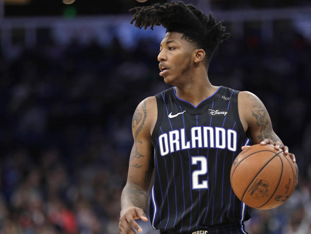 "<a class=""link rapid-noclick-resp"" href=""/nba/players/5321/"" data-ylk=""slk:Elfrid Payton"">Elfrid Payton</a> was drafted 10th overall in 2014. (AP)"