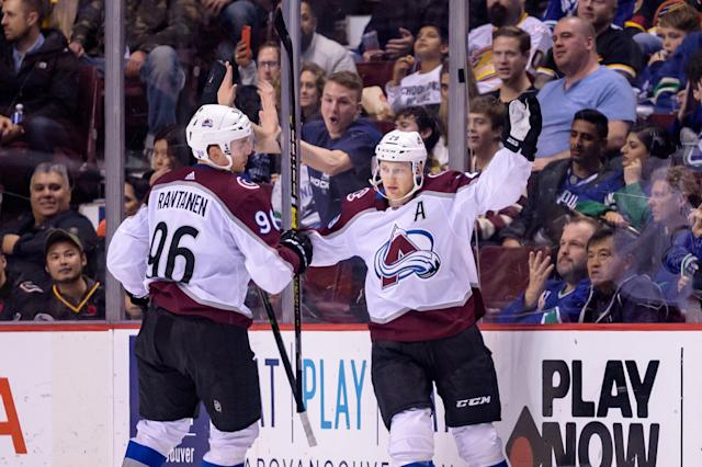 The Avalanche are a trendy pick to make some noise in the Western Conference. (Photo by Derek Cain/Icon Sportswire via Getty Images)