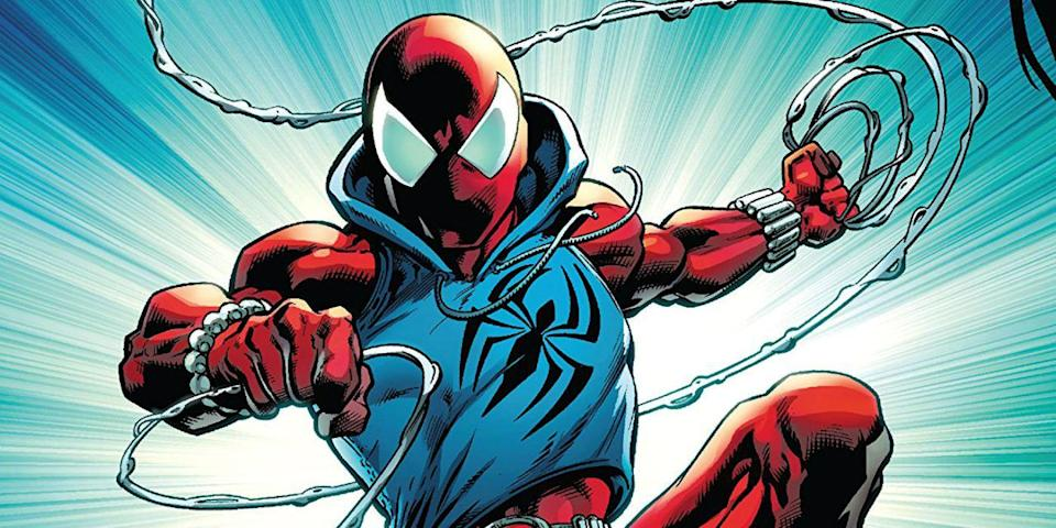 The Scarlet Spider, the clone of Peter Parker from the '90s.