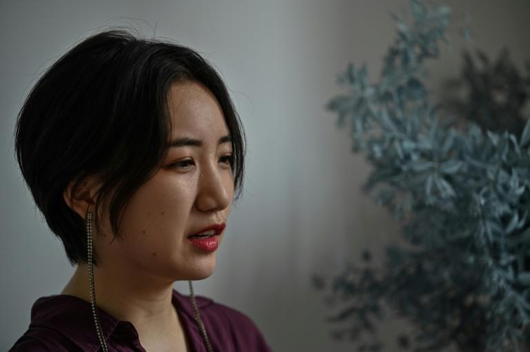 Shanghai therapist Luo Gaoyu says therapy in China remains in its infancy (AFP/Hector RETAMAL)