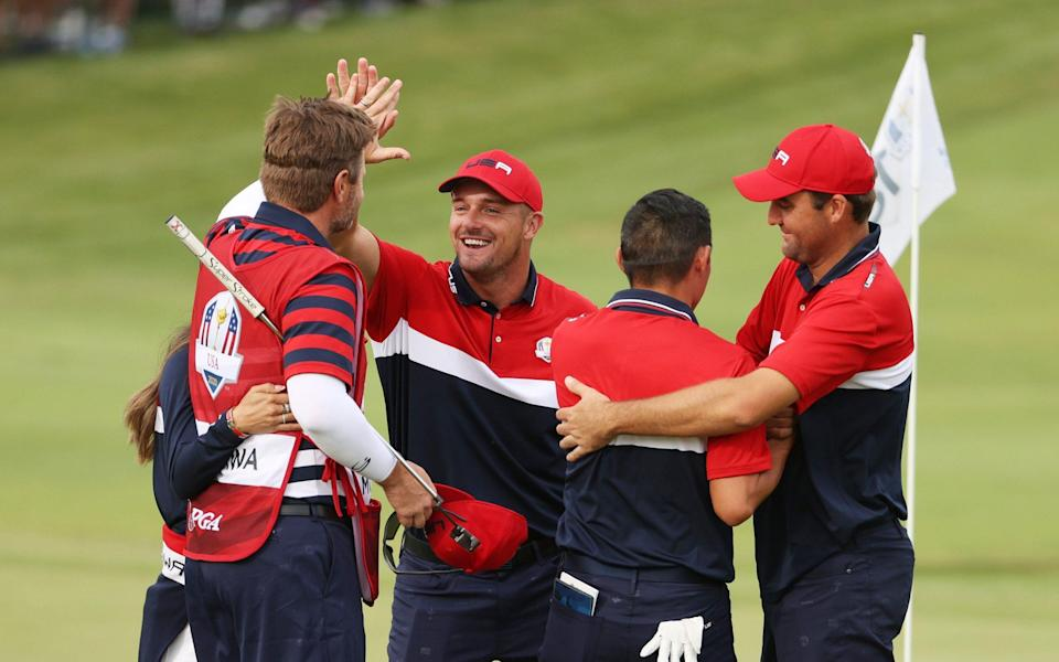 Any highlight reel from the weekend would feature DeChambeau in spades - GETTY IMAGES