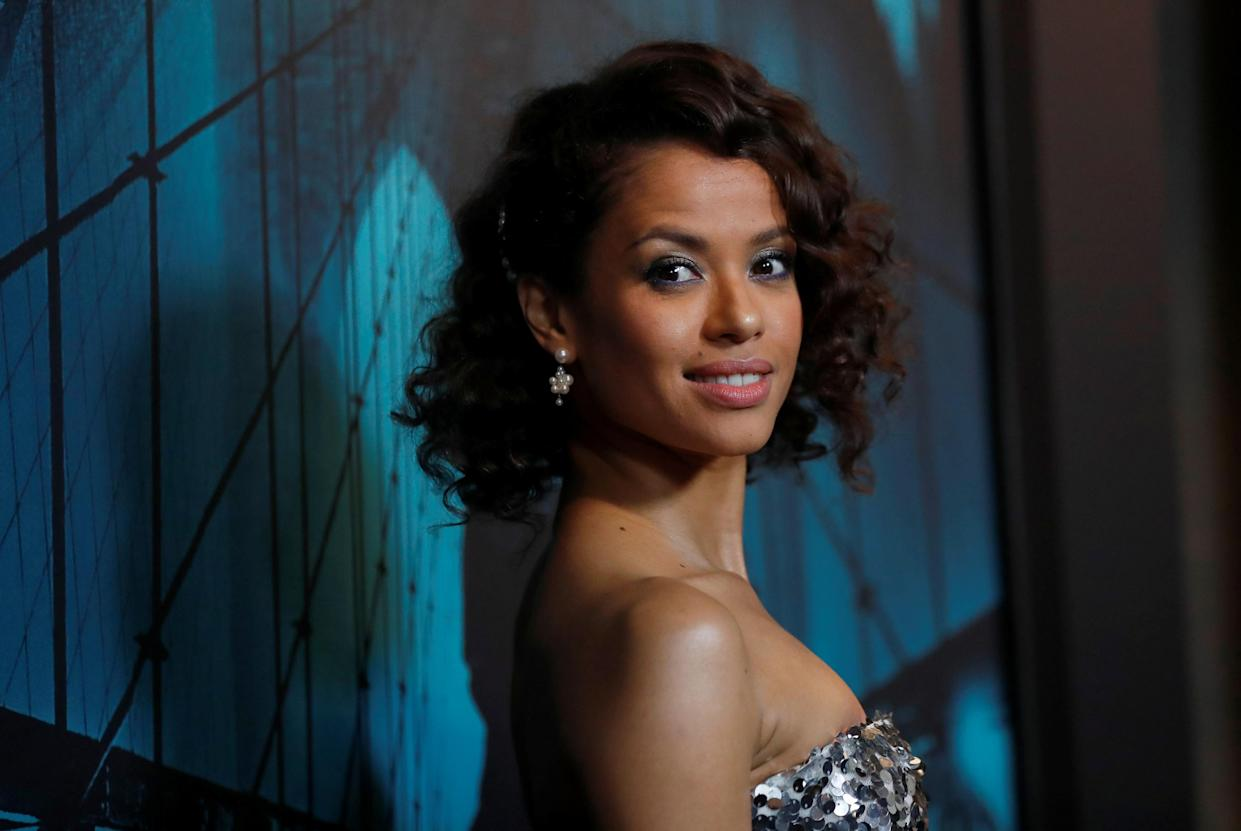 Cast member Gugu Mbatha-Raw attends a special screening for the film