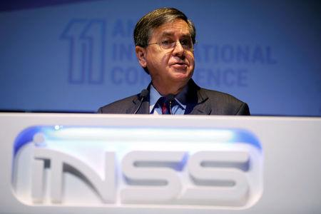Acting U.S. Assistant Secretary of State for Near Eastern Affairs, David Satterfield, speaks during the 11th Annual International Institute for National Security Studies (INSS) Conference in Tel Aviv, Israel January 31, 2018. REUTERS/Amir Cohen