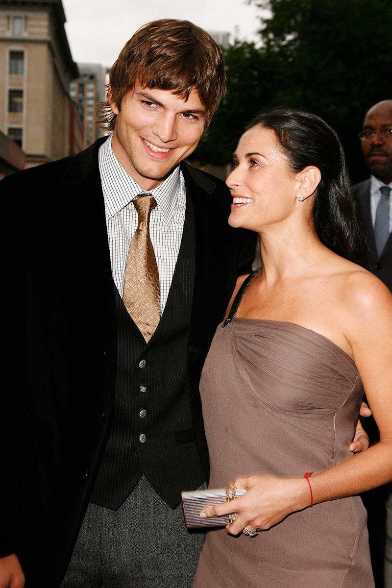 Ashton Kutcher Somehow Turns Demi Moore Divorce Drama Into Character-Building Anecdote