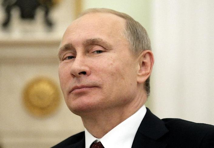 """Russian President Vladimir Putin says """"there's no need to be afraid of Russia"""" (AFP Photo/Maxim Shipenkov)"""