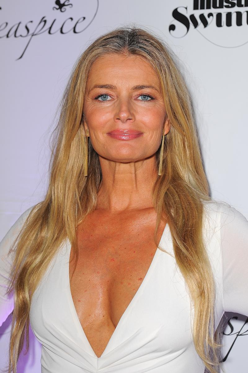 MIAMI, FLORIDA - MAY 10: Sports Illustrated model Paulina Porizkova attends SI Swimsuit On Location after party at Seaspice on May 10, 2019 in Miami, Florida. (Photo by Sergi Alexander/Getty Images)