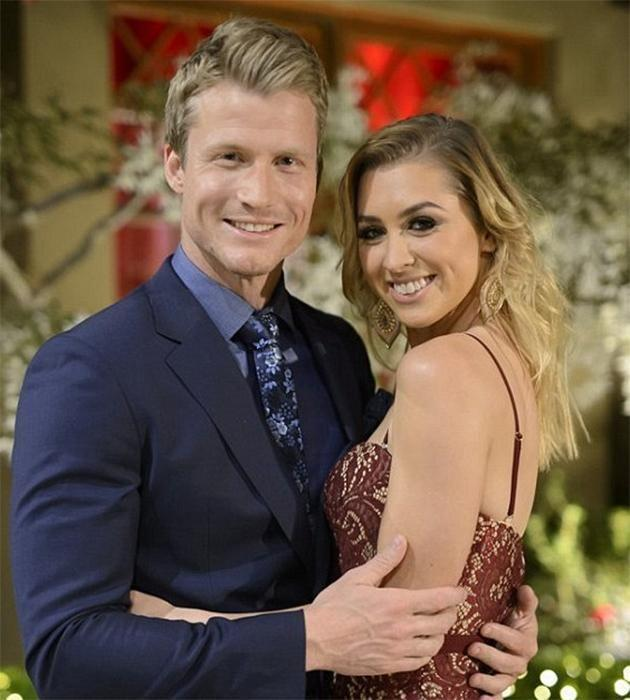 With all the scrutiny surrounding their relationship, Nikki reveals it's going to be extra tough for lovebirds Richie and Alex. Source: Channel 10
