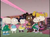 """<p>Only the '90s would produce a massively popular show about a fleet of talking babies. Did anyone else identify with the bratty older sister, Angelica? Cool, just me. </p><p><a class=""""link rapid-noclick-resp"""" href=""""https://www.amazon.com/Tommys-First-Birthday/dp/B00GFIVP32/ref=sr_1_1?crid=1523KITEW1FSY&keywords=rugrats&qid=1562093764&s=instant-video&sprefix=rugrat%2Cinstant-video%2C128&sr=1-1&tag=syn-yahoo-20&ascsubtag=%5Bartid%7C10063.g.34770662%5Bsrc%7Cyahoo-us"""" rel=""""nofollow noopener"""" target=""""_blank"""" data-ylk=""""slk:Watch Now"""">Watch Now</a></p>"""
