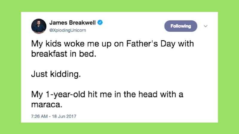 15 Tweets About Kids Taking Over Father's Day