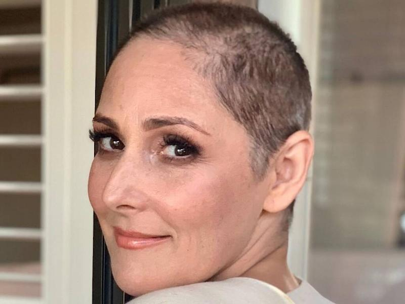 Ricki Lake shaves head after long-running battle with hair loss