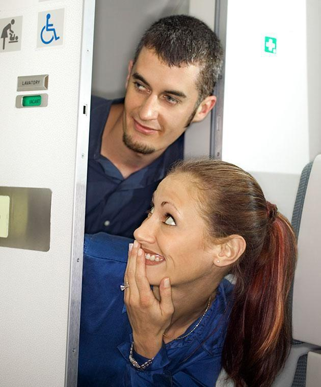 How do you enter the mile high club? Photo: Getty