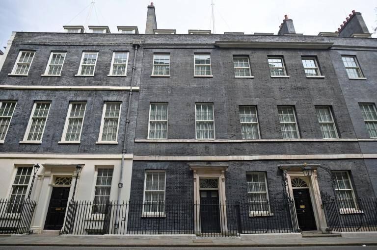Johnson lives in quarters above Number 11 Downing Street, which are more spacious than those attached to Number 10