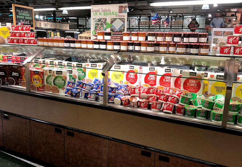 Another Dierbergs location erected a breakfast bar. (Courtesy of Dierbergs)