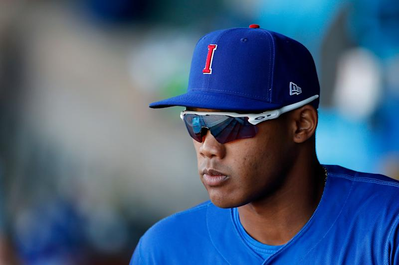 Cubs sending Russell to Triple A