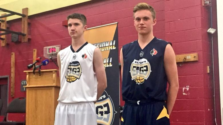 St. John's Edge shows off jerseys ahead of pro-basketball debut