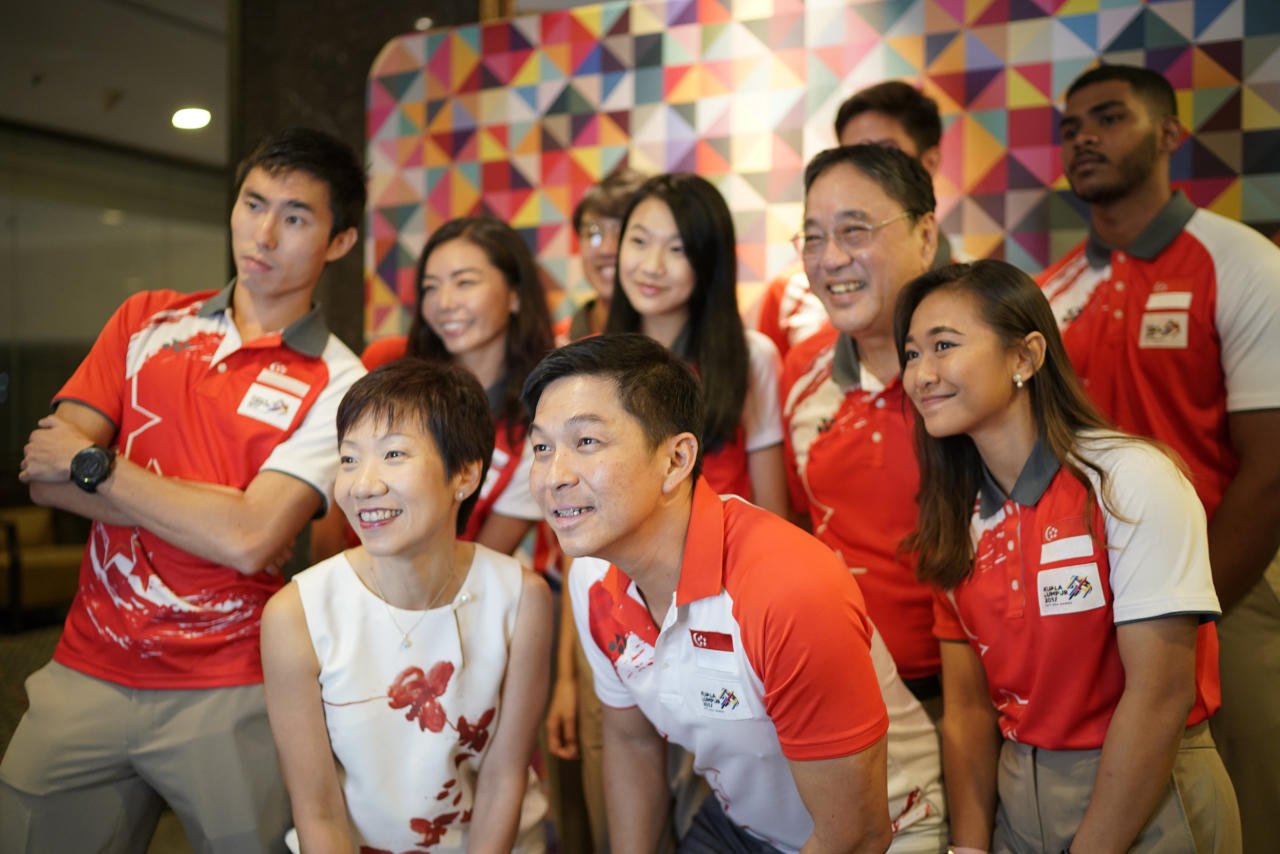 <p>A total of S$670,000 was given out to 101 Team Singapore gold medallists for their performances at the 29th SEA Games in Kuala Lumpur. </p>