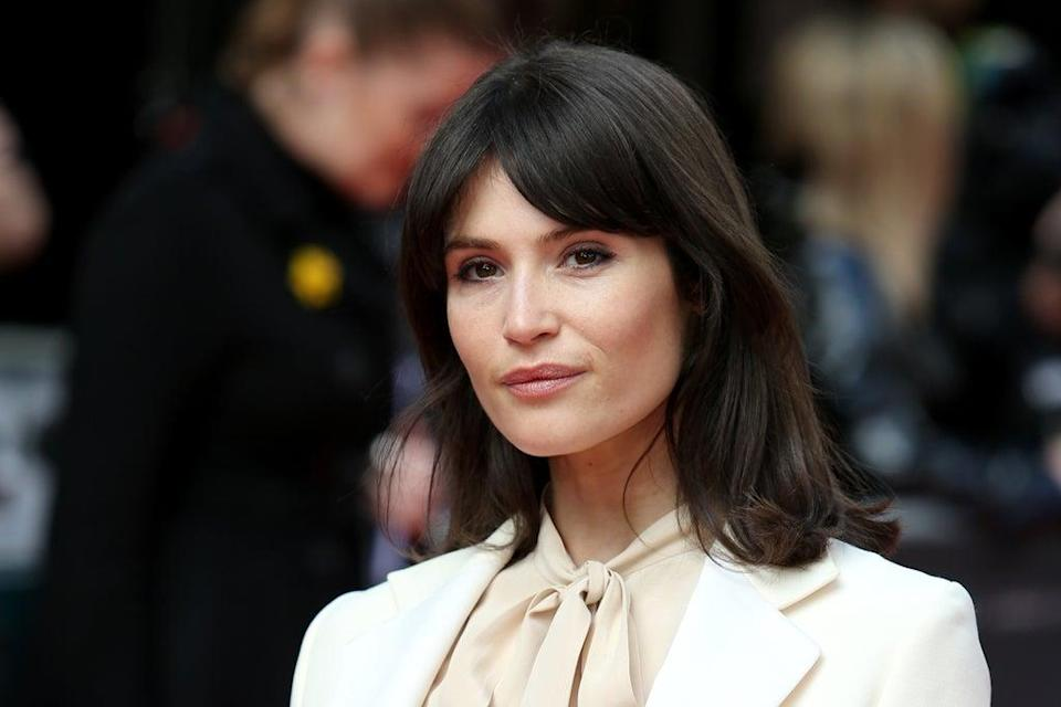 Gemma Arterton is filming Sky's Funny Girl in the city (Lauren Hurley/PA) (PA Archive)