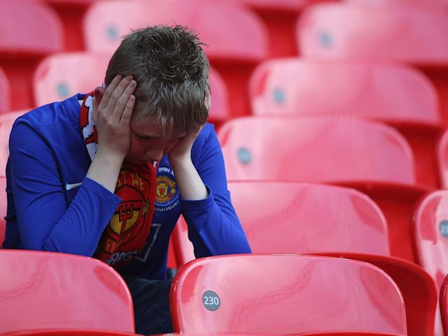 The vast majority of United's season ticket holders will miss out on the game: Getty