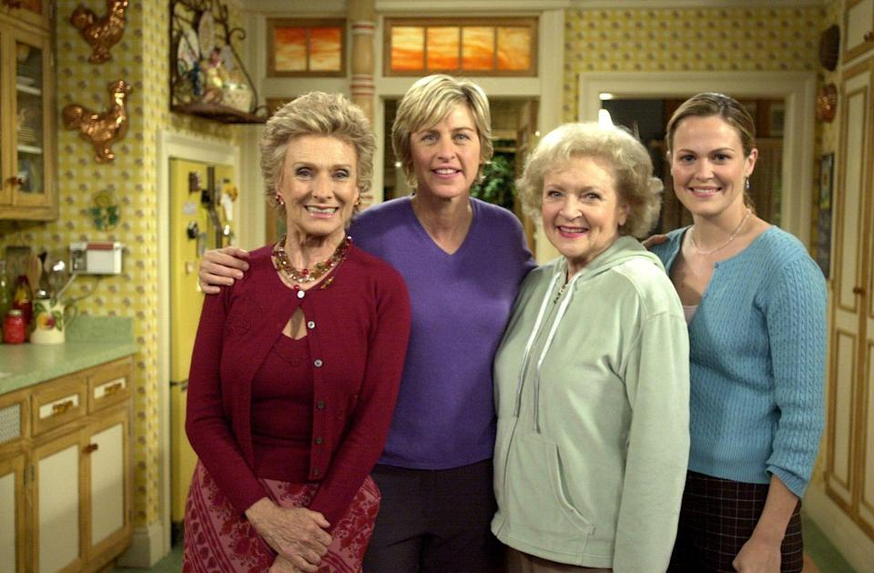 <p>In 2001, Betty guest-starred on <em>The Ellen Show</em>. The appearance marked a long-awaited reunion with her former costar and longtime friend, Cloris Leachman. </p>