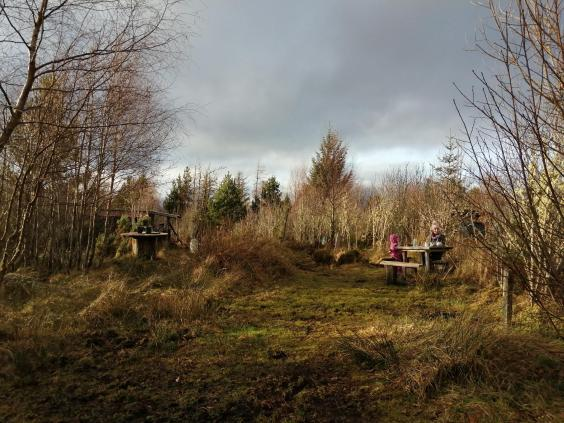 The Eco-campsite and Café is a welcome sight for wanderers (Helen Coffey)