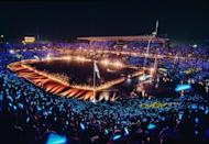 <p>While hosting the 1992 Summer Olympics, Barcelona involved the audience in an elaborate light show. </p>
