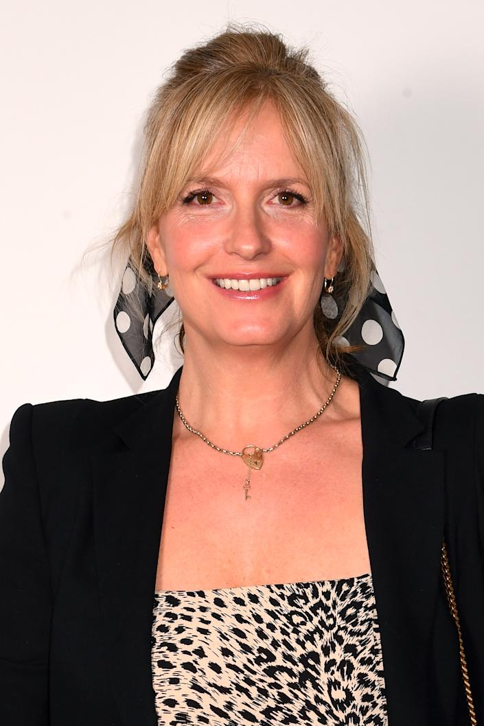 Penny Lancaster attends the