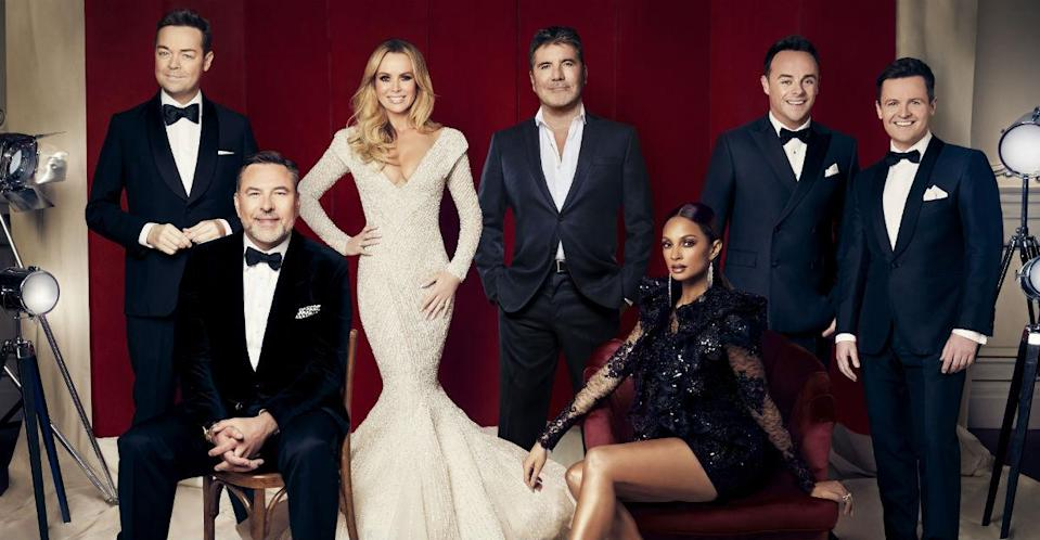The whole team are back together for the 13th series of the hit ITV talent show (Credit: ITV)