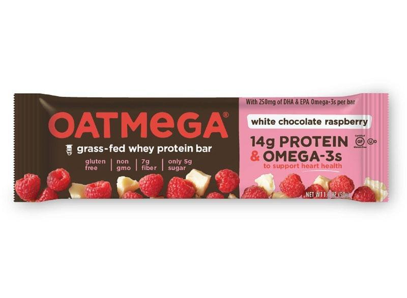 Oatmega White Chocolate Raspberry