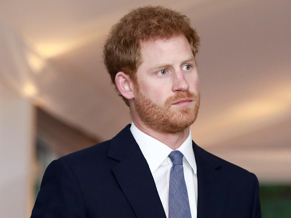 Prince Harry in 2017 (John Phillips/Getty Images)