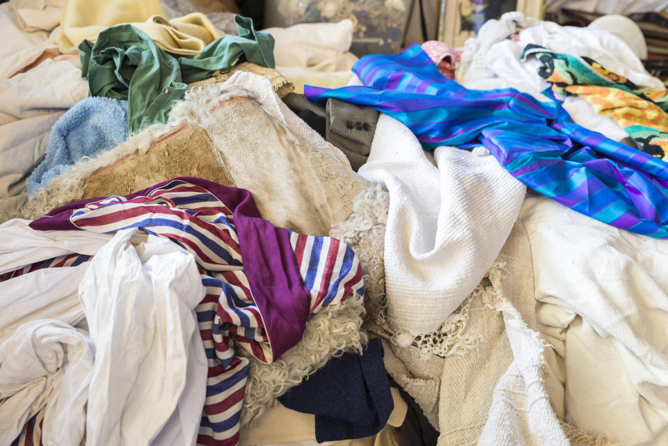 Secondhand clothes. (PHOTO: Getty Images)