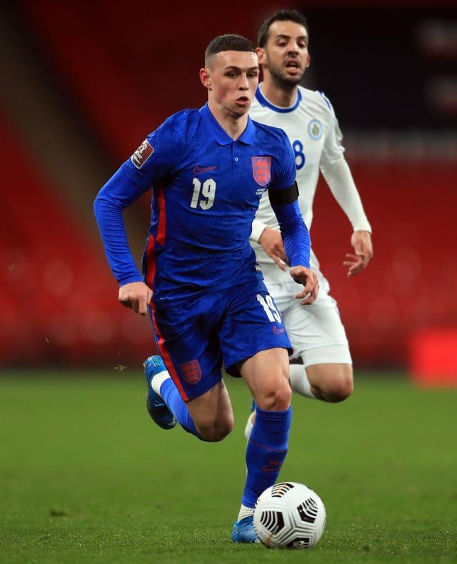 Phil Foden is determined to keep improving