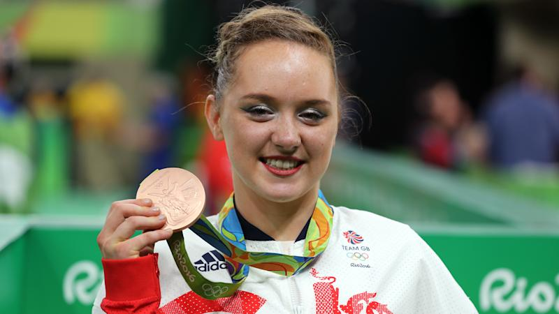 Olympic bronze medallist Amy Tinkler retires from gymnastics at age of 20