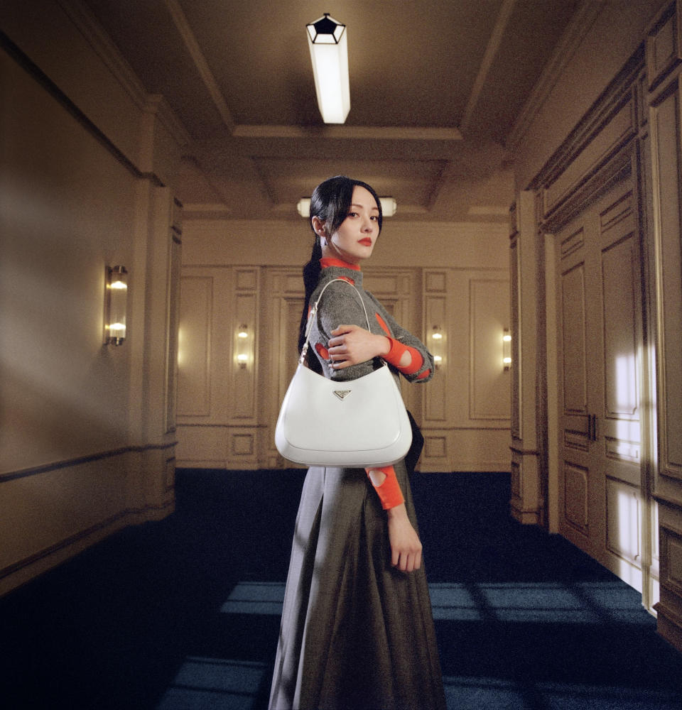 Actress Zheng Shuang in Prada's Chinese New Year campaign. - Credit: MAO/Courtesy