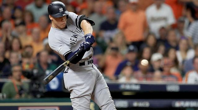 "<p>Aaron Judge, the beefy man-tree who plays rightfield for the Yankees, is your American League Rookie of the Year for 2017. If this is a surprise to you, it's probably because you went into a coma in late March and didn't come out of it until just now. Judge wasn't just the best freshman in this year's AL crop; he was arguably the league's best player overall (a debate that will be settled on Thursday when the BBWAA announces its AL MVP from a group of Judge, Jose Altuve and Jose Ramirez).</p><p>It was a season beyond belief for Judge, who cranked 52 home runs to go with an absurd .284/.422/.627 line, including an AL-high 127 walks (and an MLB-high 208 strikeouts), and was an integral part of a Yankees team that was supposed to be amid a rebuilding phase but instead won 91 games and came within a game of winning the pennant against the eventual World Series champion Astros. It's nice when things finally go New York's way.</p><p>There will likely be far more to come from Judge as his career continues, but let's take this moment to look back on the best moments from the giant metallic demi-god who came down from Mount Olympus and launched baseballs all over these United States (and Toronto). And by ""best moments,"" I mean all the jaw-dropping bombs he blasted. This post is best read while listening to something loud and bombastic—maybe ""Immigrant Song,"" or ""The 1812 Overture."" Enjoy!</p><p>Judge goes very deep in Seattle:</p><p>Judge crushes a third-deck homer against the Mets:</p><p>Judge goes 495 feet against the Orioles:</p><p>Judge's four 500-foot Home Run Derby homers:</p><p>Judge reaches the flagpoles in Yankee Stadium's leftfield with a 448-foot homer against the White Sox:</p><p>Judge makes a tumbling catch at Fenway (on his birthday, no less):</p><p>Judge breaks Mark McGwire's single-season rookie home run record with his 50th of the year:</p><p>Judge rips a line-drive homer in the AL wild-card game against the Twins:</p><p>Judge robs Francisco Lindor of a homer in ALDS Game 3 and owns Zack Hample in the process:</p><p>Judge makes a wall-crashing catch in the ALCS:</p><p>So there you have it: the year in Judge. Tune back next year for more of the same, most likely.</p>"