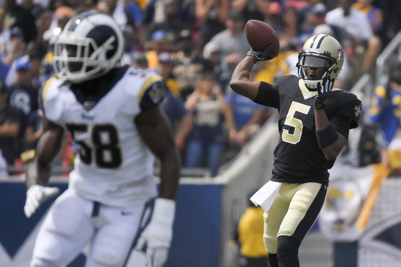 2 backups better than 1 for New Orleans Saints