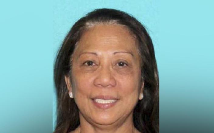This undated photo provided by the Las Vegas Metropolitan Police Department shows Marilou Danley, 62, who returned to the U.S. from the Philippines on Oct. 3 and was met at Los Angeles International Airport by FBI agents, according to a law enforcement official. (Photo: Las Vegas Metropolitan Police Department via AP)