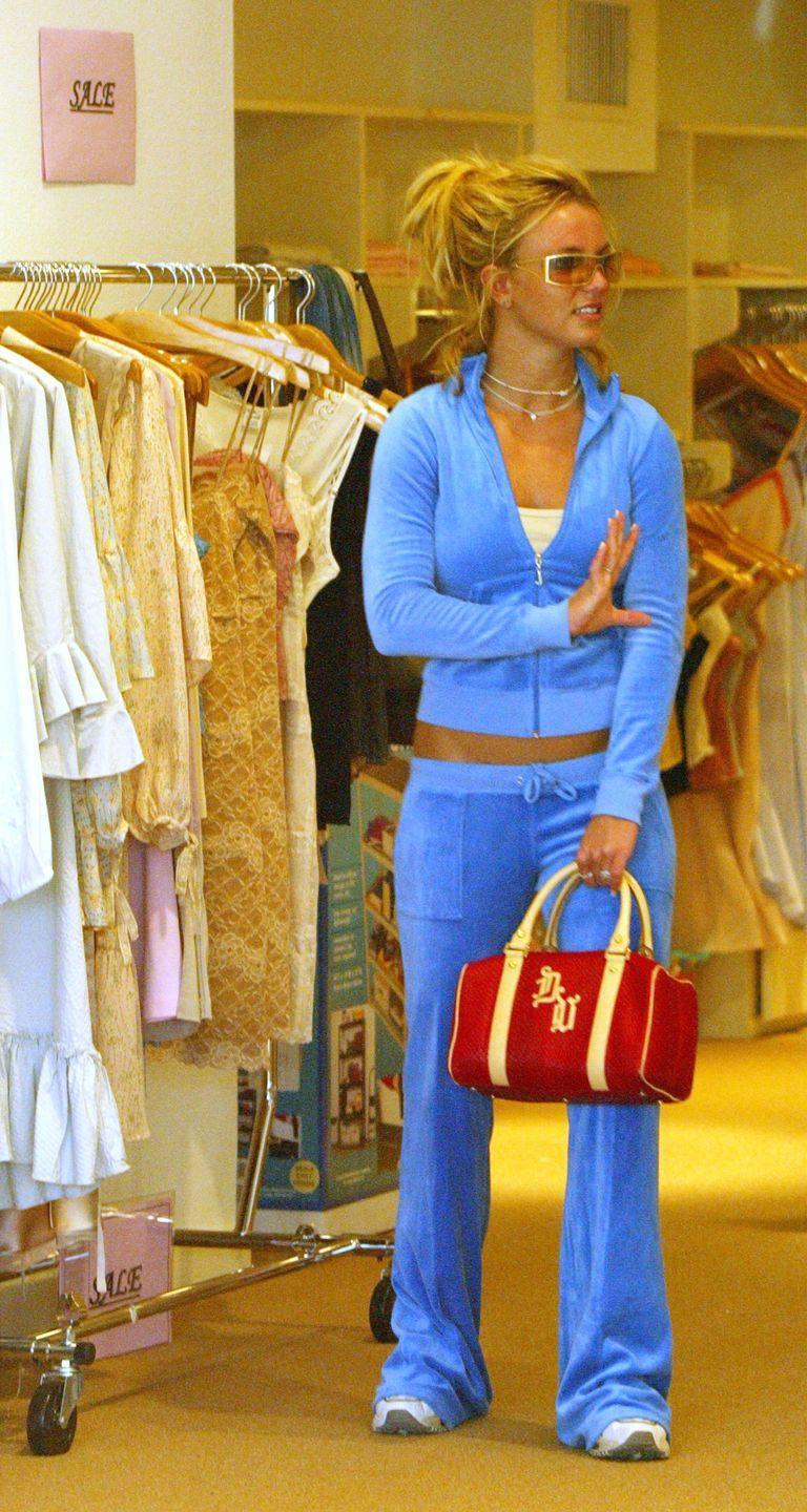 <p>You've been waiting for the velour, haven't you?! Here it is in all its Juicy Couture glory. Britney Spears owned this trend. </p>