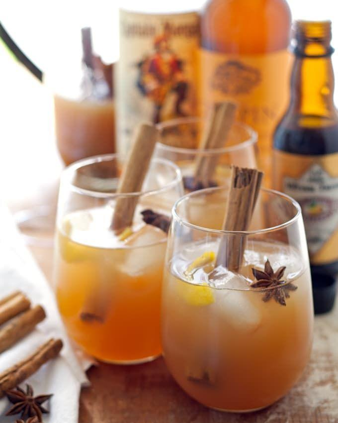 """<p>Star anise and cinnamon make this cider a showstopper—both in flavor and appearance. </p><p><strong>Get the recipe at <a href=""""https://www.honeyandbirch.com/autumn-spiced-rum-cider-cocktail/"""" rel=""""nofollow noopener"""" target=""""_blank"""" data-ylk=""""slk:Honey and Birch"""" class=""""link rapid-noclick-resp"""">Honey and Birch</a>. </strong></p><p><a class=""""link rapid-noclick-resp"""" href=""""https://go.redirectingat.com?id=74968X1596630&url=https%3A%2F%2Fwww.walmart.com%2Fsearch%3Fq%3Dcocktail%2Bspoons&sref=https%3A%2F%2Fwww.thepioneerwoman.com%2Fholidays-celebrations%2Fg36792938%2Fhalloween-punch-recipes%2F"""" rel=""""nofollow noopener"""" target=""""_blank"""" data-ylk=""""slk:SHOP COCKTAIL SPOONS"""">SHOP COCKTAIL SPOONS</a></p>"""