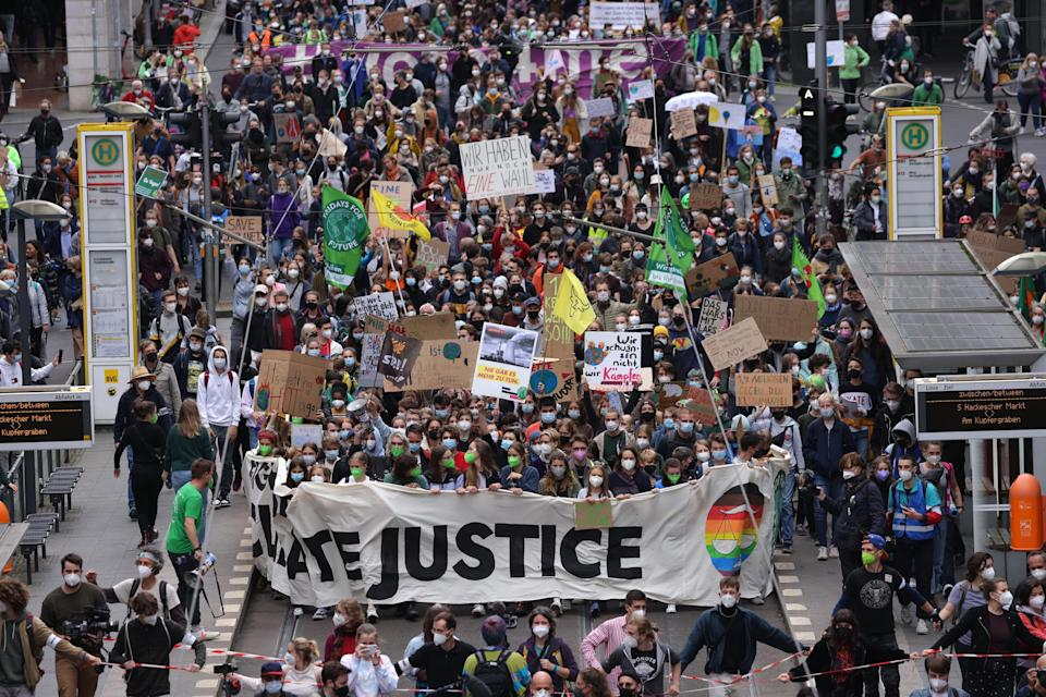 Image: Fridays For Future Holds Berlin Climate Strike March (Sean Gallup / Getty Images)