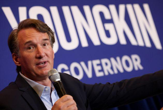 Glenn Youngkin, the Republican candidate for governor in Virginia, has positioned himself as a moderate outsider, even as he continues to push the idea that his state and others need to do more to bolster the