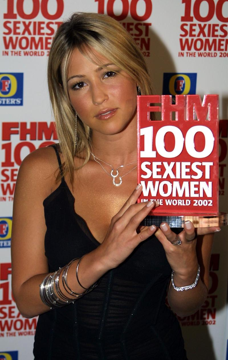 S Club 7 member Rachel Stevens attending the FHM 100 Sexiest Women party at Porland Place in London. Stevens, was named 2nd sexiest woman by the mens magazine with tennis star beauty Anna Kournikova taking first place. (Photo by Tim Whitby - PA Images/PA Images via Getty Images)