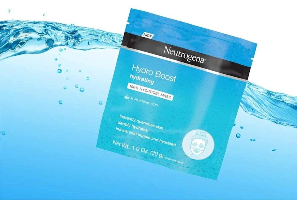 This Neutrogena face mask is an affordable beauty find at just $4. Image via Amazon.