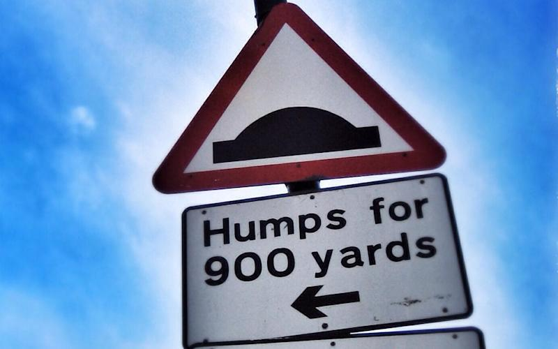 Is there anything residents can do to oppose the proliferation of speed humps? - www.Alamy.com